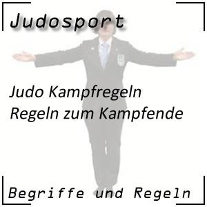 Judo Kampfende