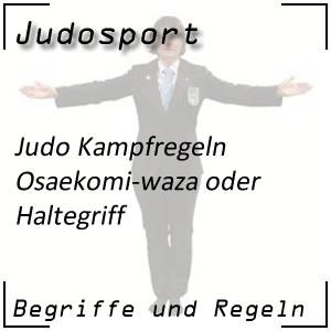 Judo Osaekomi-waza / Haltegriff