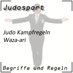 Judo Waza-ari
