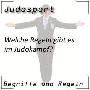 Judo Kampfregeln