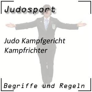 Judo Kampfrichter
