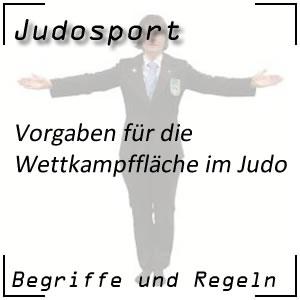 Judo Wettkampffläche