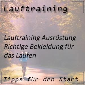 Lauftraining Bekleidung