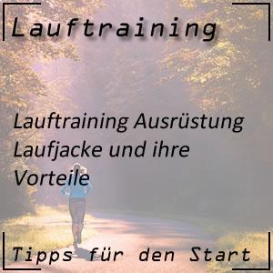 Lauftraining Laufjacke