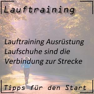 Lauftraining Laufschuhe