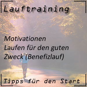 Lauftraining Motivationen Benefizlauf