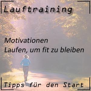 Lauftraining Motivationen Fit bleiben