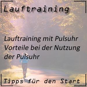 Lauftraining Pulsuhr