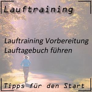 Lauftraining Vorbereitung Lauftagebuch
