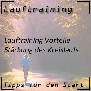 Lauftraining stärkt Kreislauf