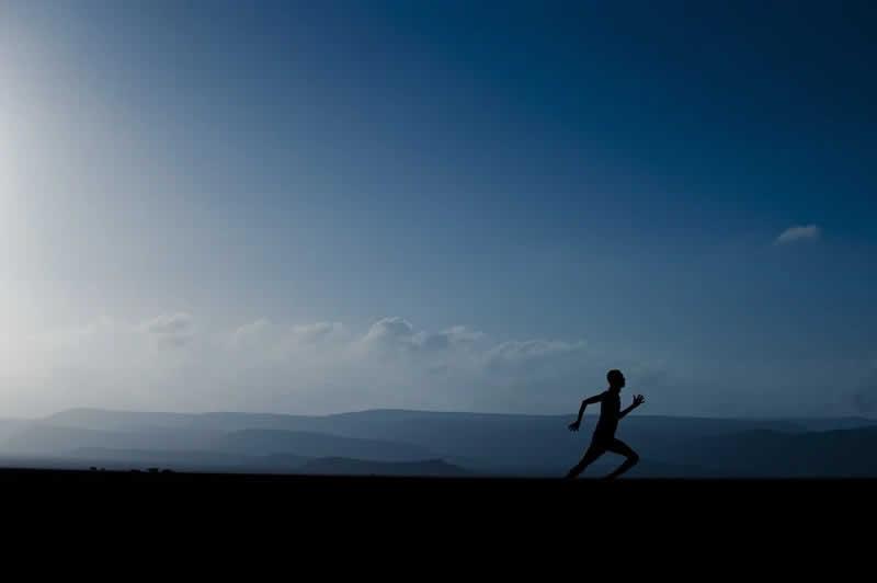 Laufen hilft gegen Stress
