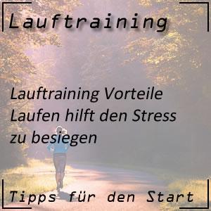 Lauftraining gegen Stress im Alltag