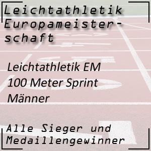 Leichtathletik EM 100 m Männer