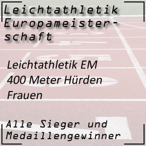 Leichtathletik EM 400 m Hürden Frauen