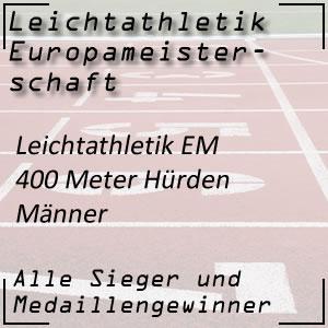 Leichtathletik EM 400 m Hürden Männer