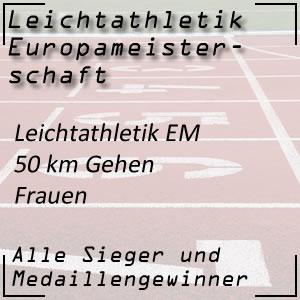 Leichtathletik EM 50 km Gehen Frauen
