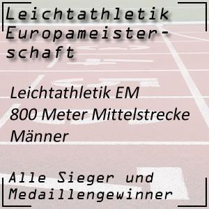 Leichtathletik EM 800 m Männer