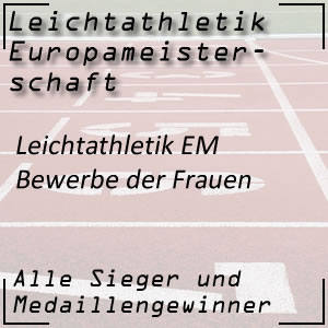 Leichtathletik EM Frauenbewerbe