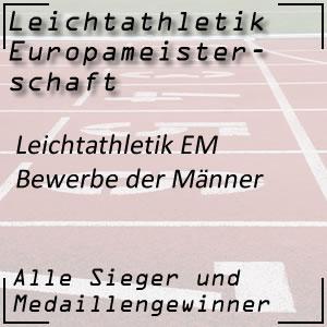 Leichtathletik EM Männerbewerbe