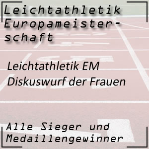 Leichtathletik EM Diskuswurf Frauen