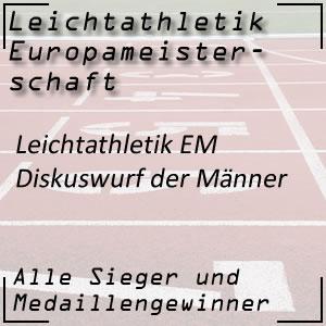 Leichtathletik EM Diskuswurf Männer