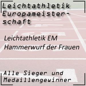 Leichtathletik EM Hammerwurf Frauen
