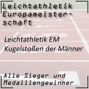 Leichtathletik EM Kugelstoßen Männer