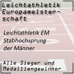Leichtathletik EM Stabhochsprung Männer