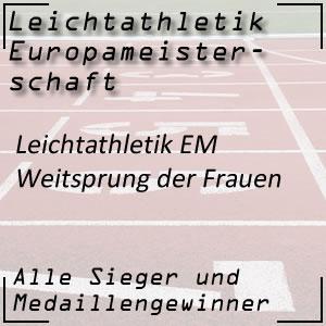 Leichtathletik EM Weitsprung Frauen