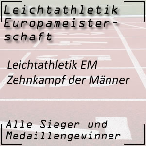 Leichtathletik EM Zehnkampf Männer
