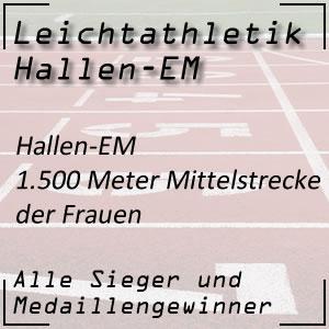 Leichtathletik Hallen-EM 1.500 m Frauen