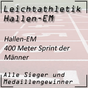 Hallen EM 400 m Männer