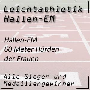Leichtathletik Hallen-EM 60 m Hürden Frauen