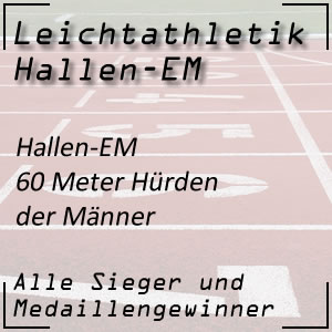 Leichtathletik Hallen EM 60 m Hürden Männer