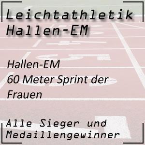 Leichtathletik Hallen-EM 60 m Frauen