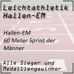 Hallen EM 60 m Männer