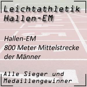 Hallen EM 800 m Männer