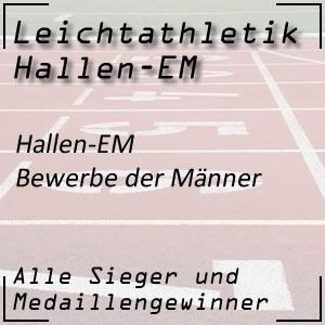 Leichtathletik Hallen EM Bewerbe der Männer