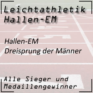 Hallen EM Dreisprung Männer