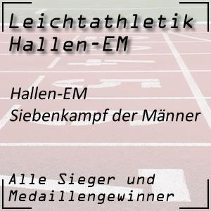 Leichtathletik Hallen EM Siebenkampf Männer