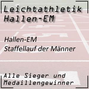 Hallen EM 4x400 m Staffel Männer