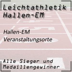 Leichtathletik Hallen EM Veranstaltungsorte