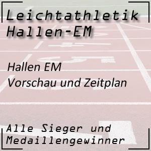 Leichtathletik Hallen EM Vorschau und Zeitplan