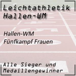 Hallen WM Fünfkampf Frauen
