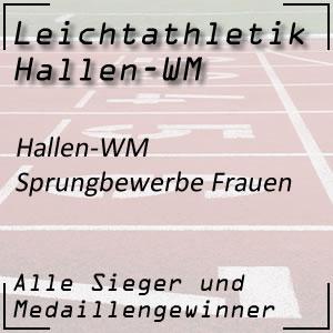 Hallen WM Sprungbewerbe Frauen