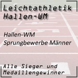 Leichtathletik Hallen WM Sprungbewerbe Männer