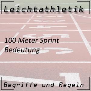 Leichtathletik 100 Meter