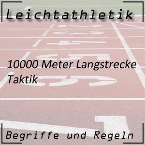 Laufen 10000 m Taktik