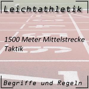 Laufen 1500 m Taktik