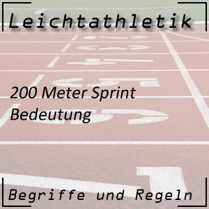 Leichtathletik 200 Meter